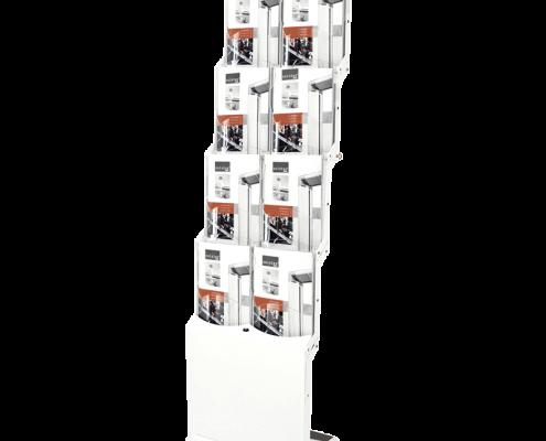 RealBig Bianco Prospektständer weiss
