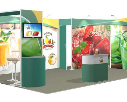 Messestand ISOframe Wave