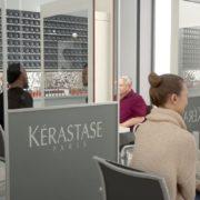 Trennwand für Restaurants
