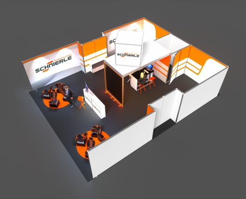 Messestand Planung Service